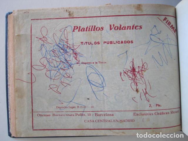 Tebeos: PLATILLOS VOLANTES. COLECCIÓN COMPLETA, 18 NÚMEROS, 2 PTAS. 1963. EXCLUSIVAS GRÁFICAS RICART. - Foto 40 - 204814788