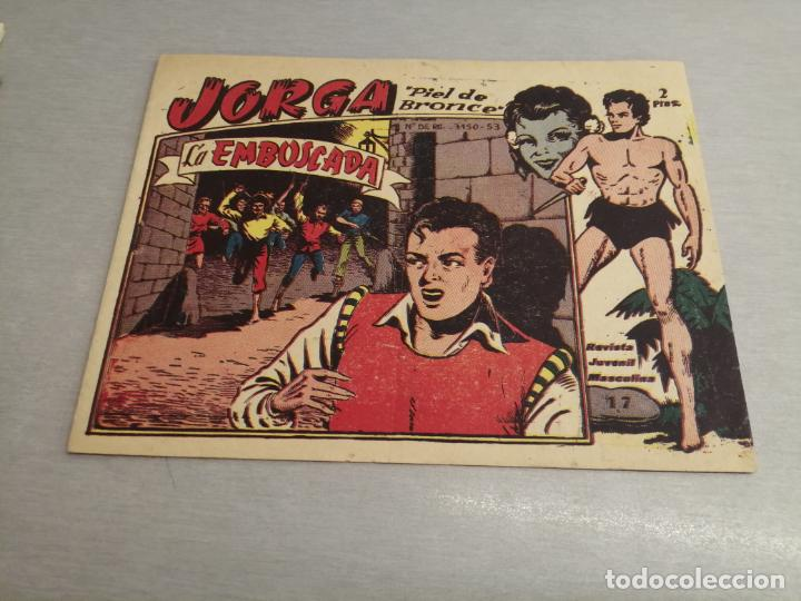 JORGA PIEL DE BRONCE Nº 17 / RICART ORIGINAL (Tebeos y Comics - Ricart - Otros)