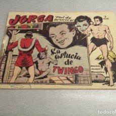 Livros de Banda Desenhada: JORGA PIEL DE BRONCE Nº 9 / RICART ORIGINAL. Lote 205370648