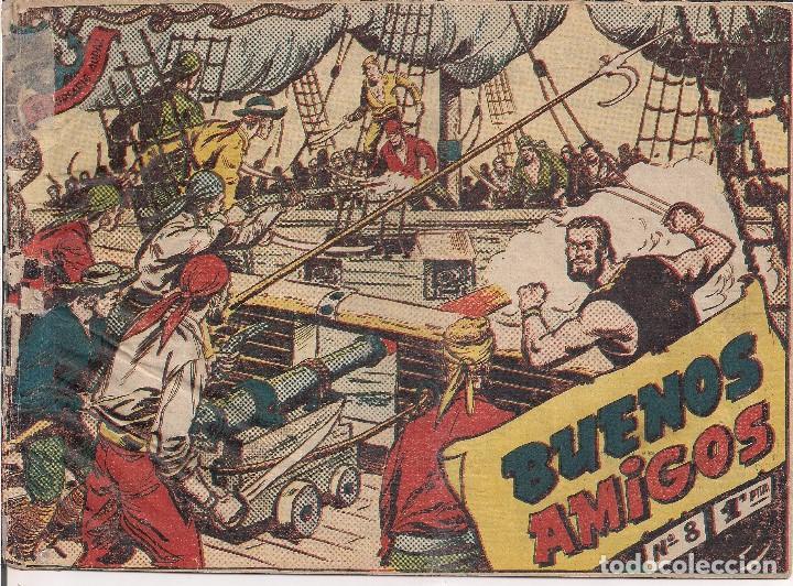 EL CORSARIO AUDAZ Nº 8. 1 PTA. BUENOS AMIGOS (Tebeos y Comics - Ricart - Otros)