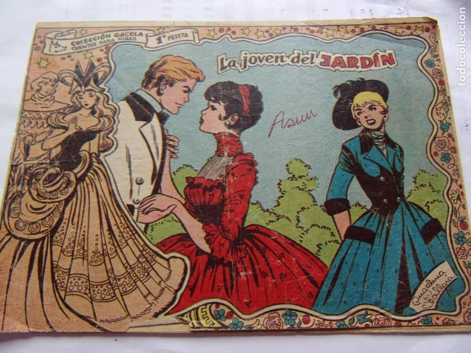COLECCIÓN GACELA NÚM. 123 LA JOVEN DEL JARDÍN (Tebeos y Comics - Ricart - Gacela)
