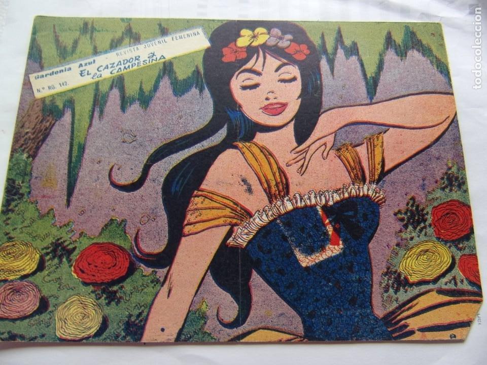 COLECCIÓN GARDENIA AZUL NÚM. 66 EL CAZADOR Y LA CAMPESINA (Tebeos y Comics - Ricart - Otros)