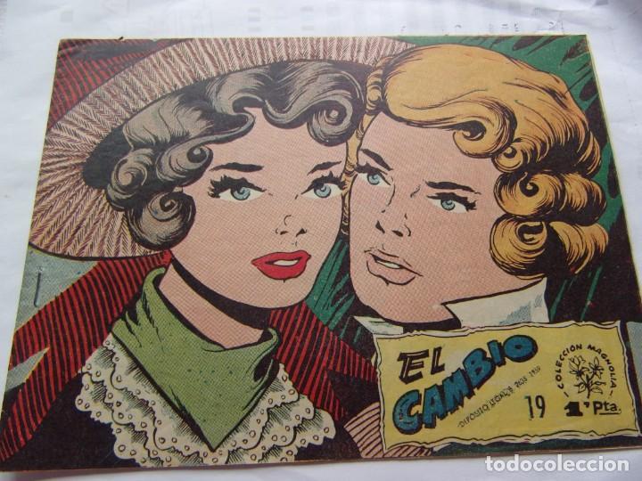 COLECCIÓN MAGNOLIA NÚM. 19 EL CAMBIO (Tebeos y Comics - Ricart - Otros)