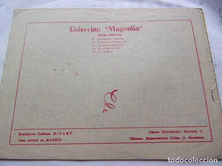Tebeos: COLECCIÓN MAGNOLIA NÚM. 19 EL CAMBIO - Foto 2 - 205749848