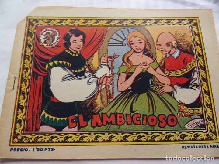COLECCIÓN ARDILLITA- EL AMBICIOSO (Tebeos y Comics - Ricart - Otros)