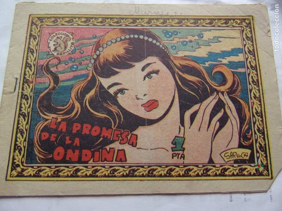 COLECCIÓN ARDILLITA- LA PROMESA DE LA ONDINA (Tebeos y Comics - Ricart - Otros)