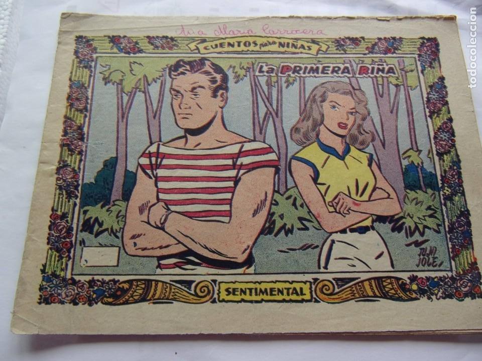 COLECCIÓN SENTIMENTAL -LA PRIMERA RIÑA- ANO 1959 (Tebeos y Comics - Ricart - Sentimental)