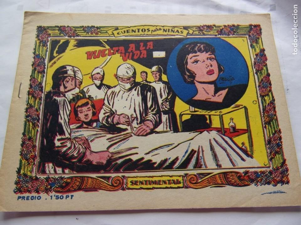COLECCIÓN SENTIMENTAL -VUELTA A AL VIDA- ANO 1959 (Tebeos y Comics - Ricart - Sentimental)