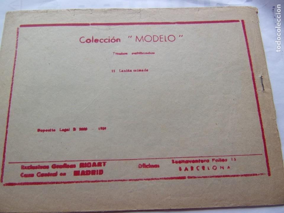 Tebeos: COLECCIÓN MODELO - LA NIÑA MIMADA - Foto 2 - 206501747