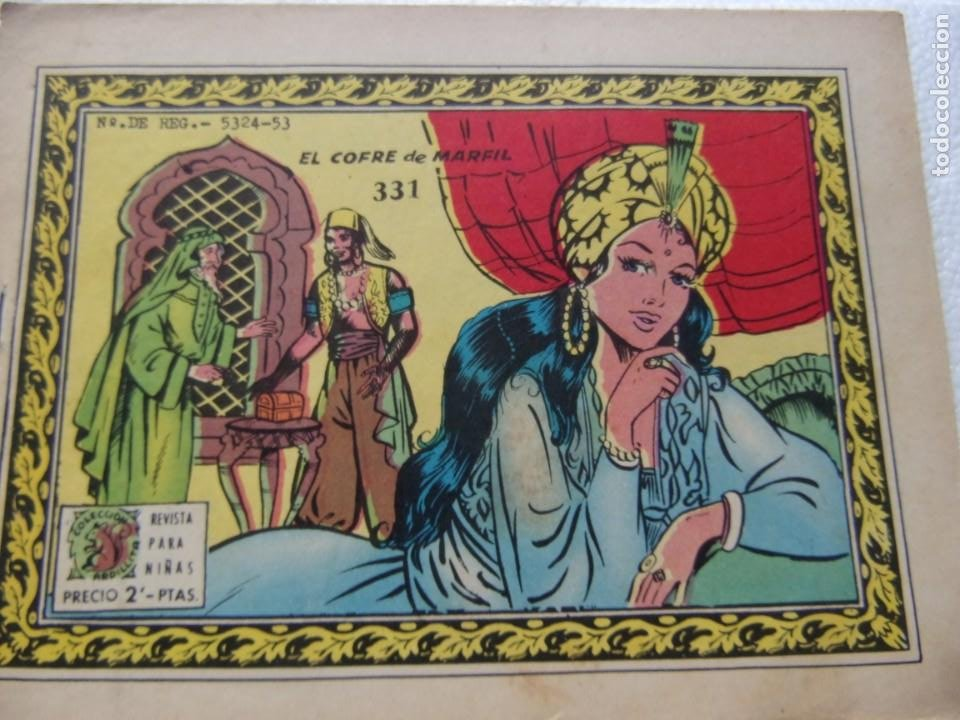 COLECCIÓN ARDILLITA NUM. 331- EL COFRE DE MARFIL (Tebeos y Comics - Ricart - Otros)