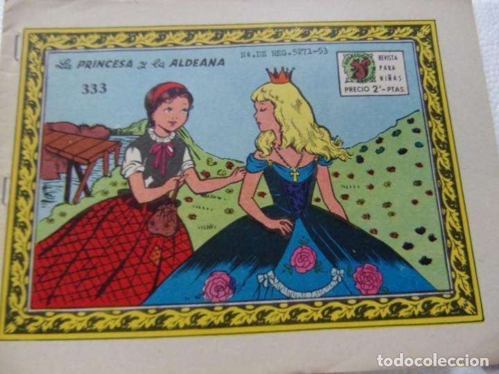 COLECCIÓN ARDILLITA NUM. 333-LA PRINCESA Y LA ALDEANA (Tebeos y Comics - Ricart - Otros)