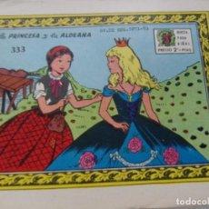 Tebeos: COLECCIÓN ARDILLITA NUM. 333-LA PRINCESA Y LA ALDEANA. Lote 207246255