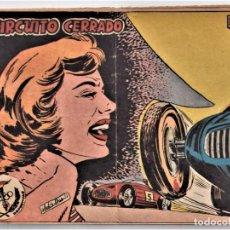 Tebeos: AVENTURAS DEPORTIVAS DE 1 PTA. Nº 19 - CIRCUITO CERRADO - EDITORIAL RICART. Lote 207306817
