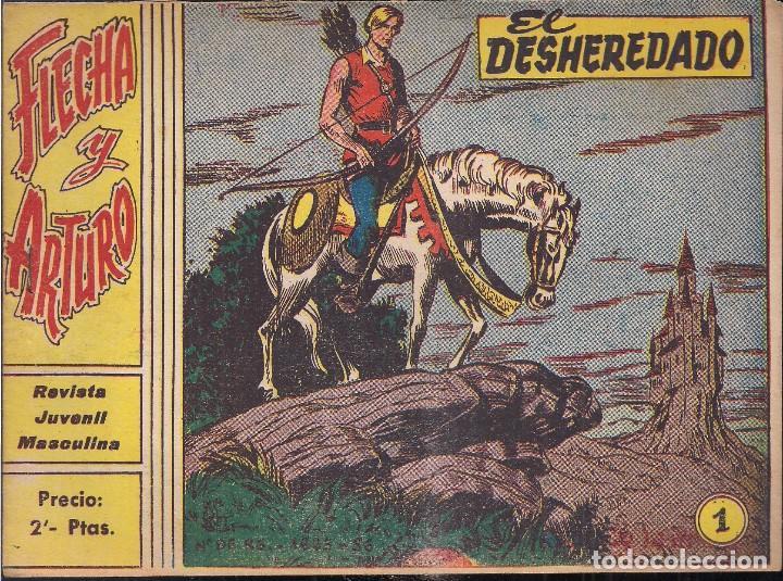 FLECHA Y ARTURO Nº 1: EL DESHEREDADO. 2PTS. (Tebeos y Comics - Ricart - Flecha y Arturo)