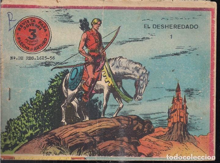 FLECHA Y ARTURO Nº 1: EL DESHEREDADO. 3 PTS. (Tebeos y Comics - Ricart - Flecha y Arturo)