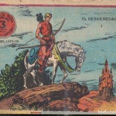 Tebeos: FLECHA Y ARTURO Nº 1: EL DESHEREDADO. 3 PTS.. Lote 208130040