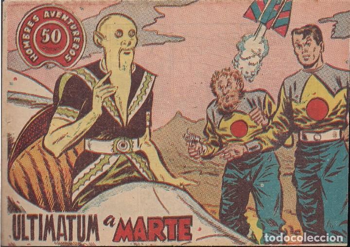 HOMBRES AVENTUREROS Nº 42: ULTIMARUM A MARTE (Tebeos y Comics - Ricart - Otros)