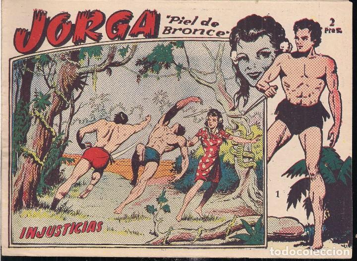 JORGA PIEL DE BRONCE Nº 1: INJUSTICIAS (Tebeos y Comics - Ricart - Jorga)