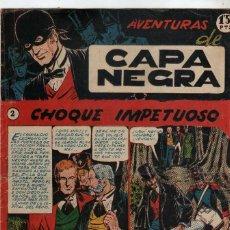 Tebeos: TEBEO AVENTURAS DE CAPA NEGRA Nº 2, EXCLUSIVAS RICART, ORIGINAL. Lote 210145845