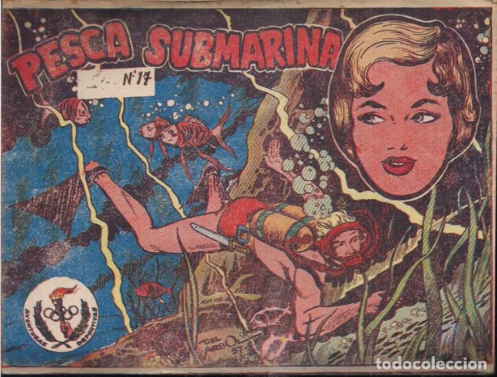 AVENTURAS DEPORTIVAS Nº 17: PESCA SUBMARINA (Tebeos y Comics - Ricart - Aventuras Deportivas)