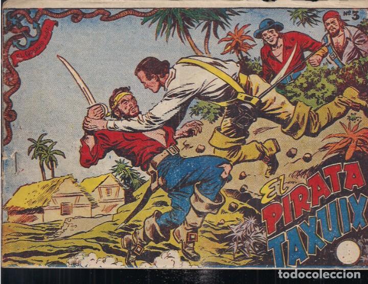 EL CORSARIO AUDAZ Nº 3: EL PIRATA TAXUIX (Tebeos y Comics - Ricart - Otros)