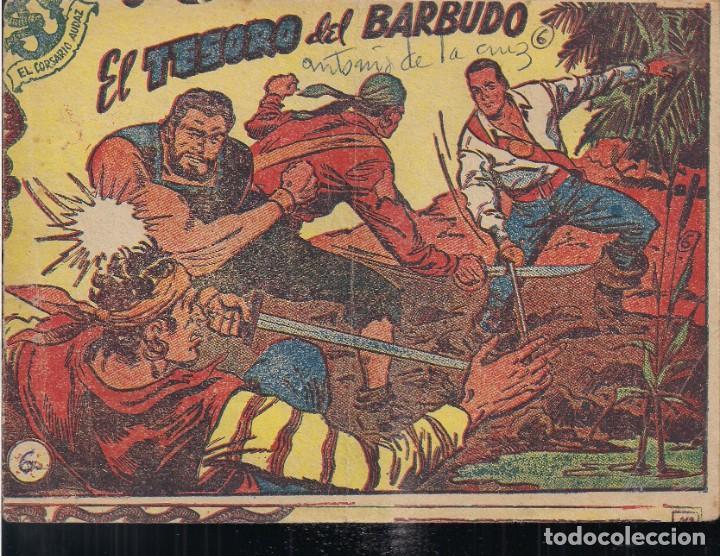 EL CORSARIO AUDAZ Nº 6: EL TESORO DEL BARBUDO (Tebeos y Comics - Ricart - Otros)
