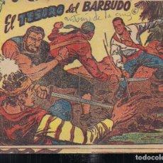 Tebeos: EL CORSARIO AUDAZ Nº 6: EL TESORO DEL BARBUDO. Lote 211667098