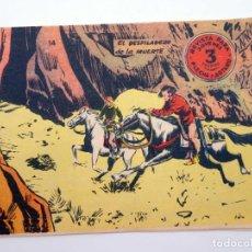 Tebeos: FLECHA Y ARTURO 14. EL DESFILADERO DE LA MUERTE (NO ACREDITADO) RICART, 1966. OFRT. Lote 212162462