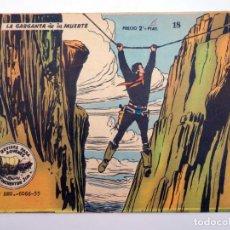 Giornalini: WINCHESTER JIM 18. LA GARGANTA DE LA MUERTE (NO ACREDITADO) RICART, 1963. Lote 212162488