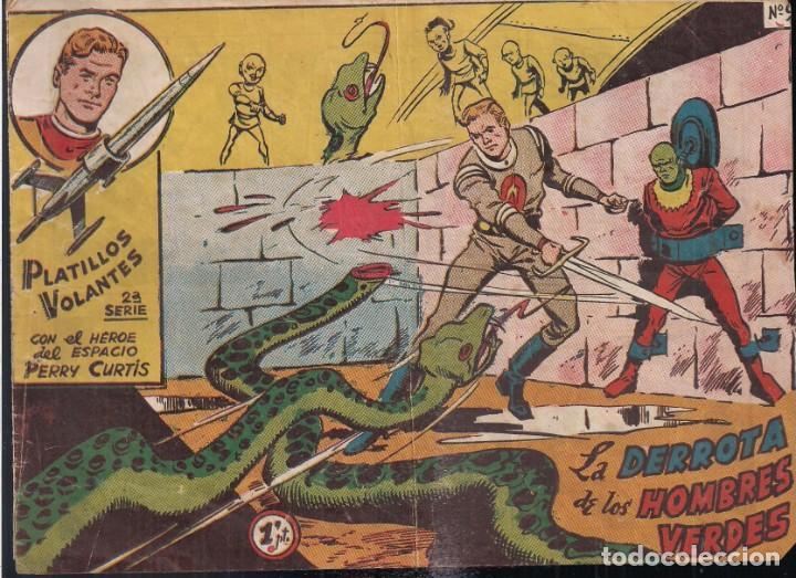 PLATILLOS VOLANTES 2ª SERIE 1 PESETA. Nº9: LA DERROTA DE LOS HOMBRES VERDES (Tebeos y Comics - Ricart - Otros)