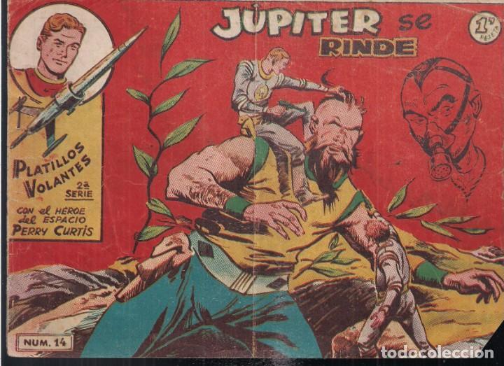 PLATILLOS VOLANTES 2ª SERIE 1 PESETA. Nº14: JUPITER SE RINDE (Tebeos y Comics - Ricart - Otros)