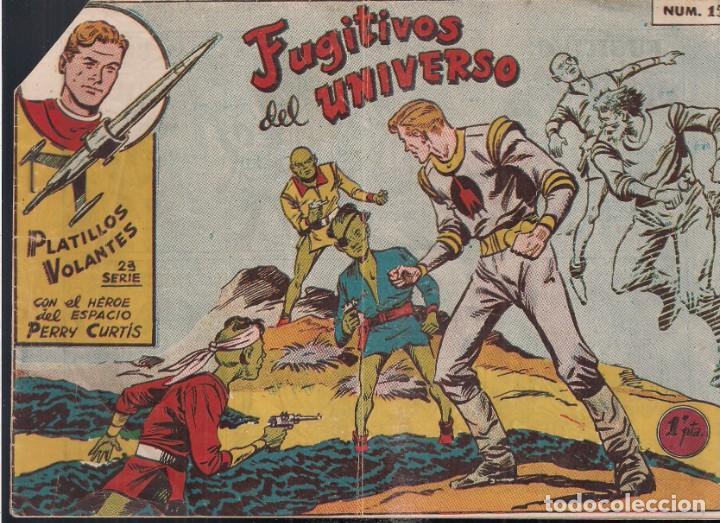 PLATILLOS VOLANTES 2ª SERIE 1 PESETA. Nº15: FUGITIVOS DEL UNIVERSO (Tebeos y Comics - Ricart - Otros)