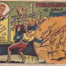 Tebeos: PLATILLOS VOLANTES 2ª SERIE 2 PESETAS. Nº 4: PRESAGIOS DE GRAN TORMENTA. Lote 212327675