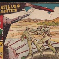 Tebeos: PLATILLOS VOLANTES 1ª SERIE Nº 3: CONTRA EL INVASOR. Lote 212328273