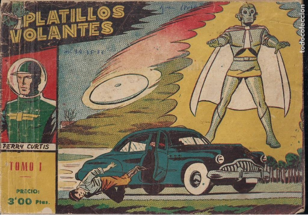 PLATILLOS VOLANTES COMPLETA. 5 TOMOS CON LOS 15 TEBEOS (Tebeos y Comics - Ricart - Otros)