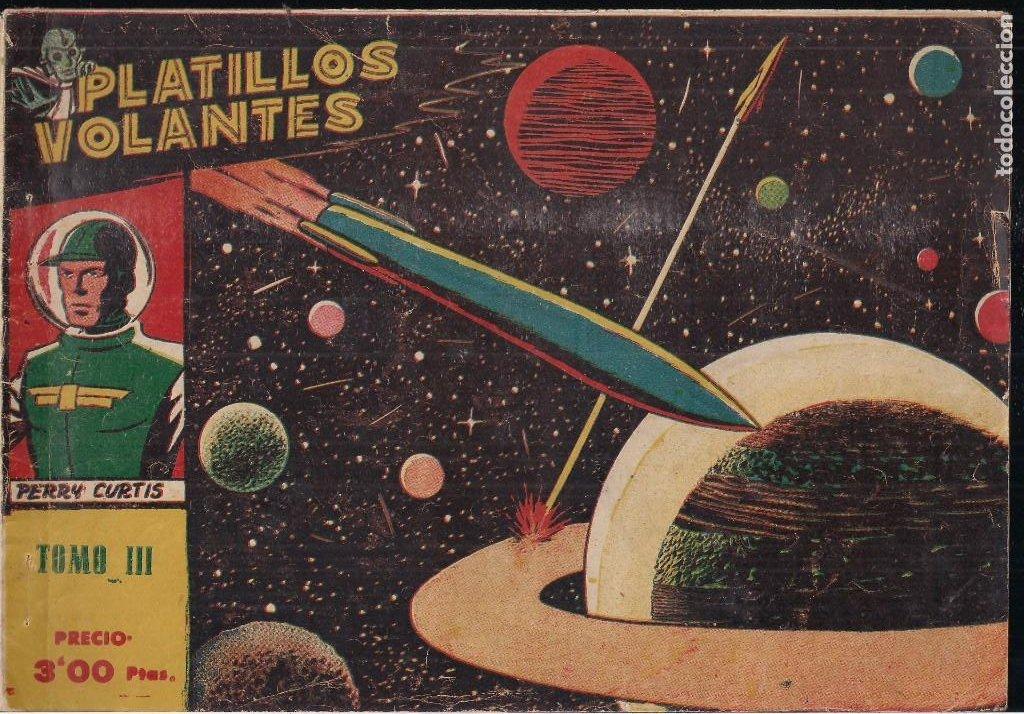 Tebeos: PLATILLOS VOLANTES COMPLETA. 5 TOMOS CON LOS 15 TEBEOS - Foto 5 - 212612710