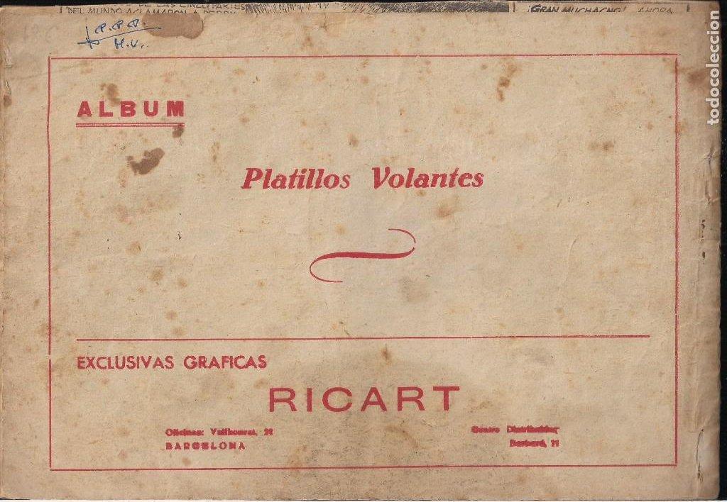 Tebeos: PLATILLOS VOLANTES COMPLETA. 5 TOMOS CON LOS 15 TEBEOS - Foto 10 - 212612710