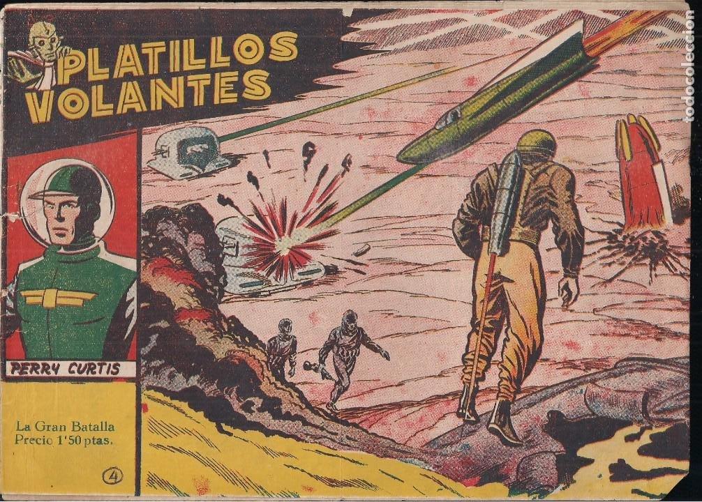 PLATILLOS VOLANTES 1ª SERIE Nº 4: LA GRAN BATALLA (Tebeos y Comics - Ricart - Otros)