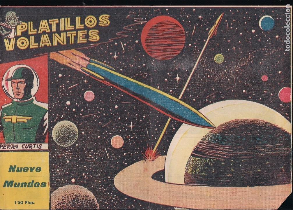 PLATILLOS VOLANTES 1ª SERIE Nº 7: NUEVE MUNDOS (Tebeos y Comics - Ricart - Otros)