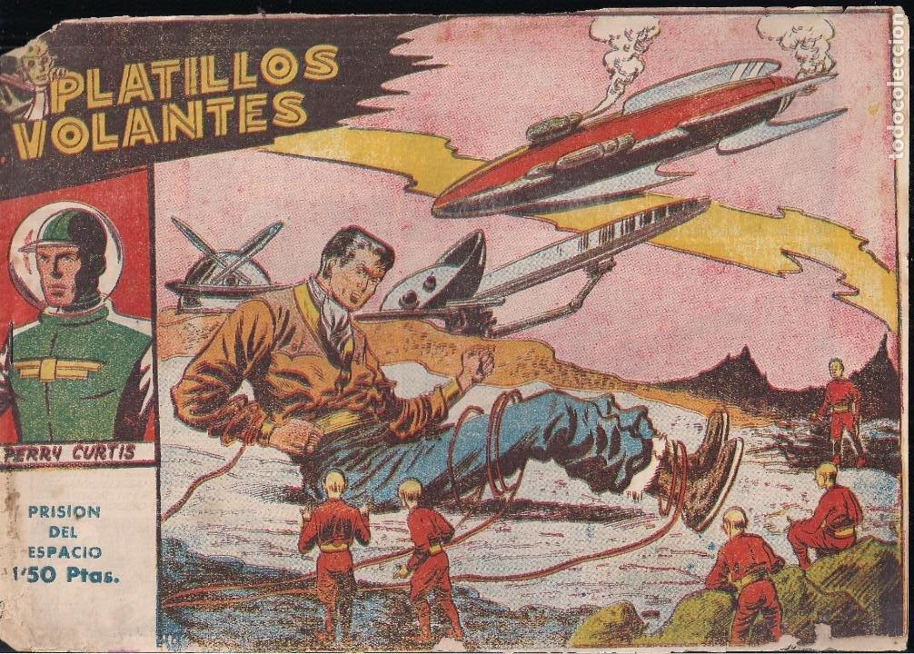 PLATILLOS VOLANTES 1ª SERIE Nº 13: PRISION DEL ESPACIO (Tebeos y Comics - Ricart - Otros)
