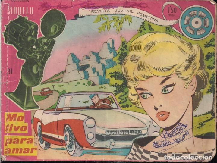 MODELO 1960 Nº 31: MOTIVO PARA AMAR. CONTIENE BUSCANDO SU PASADO PAG. 29/30 (Tebeos y Comics - Ricart - Modelo)