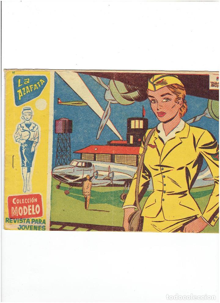 * COLECCION MODELO * Nº 11 * EDITORIAL RICART 1959 * ORIGINAL * (Tebeos y Comics - Ricart - Modelo)