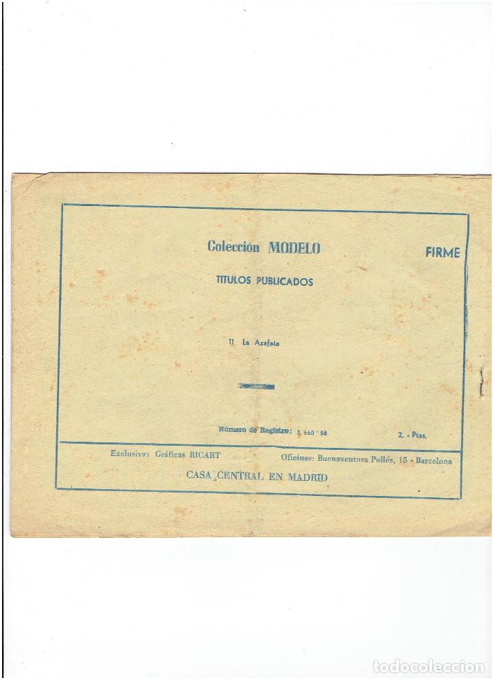 Tebeos: * COLECCION MODELO * Nº 11 * EDITORIAL RICART 1959 * ORIGINAL * - Foto 2 - 214109348