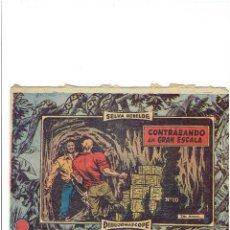 Giornalini: ARCHIVO * SELVA REBELDE * Nº 10. GRAFICAS RICART 1957 * ORIGINAL *. Lote 214137986
