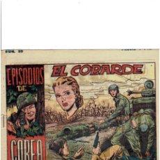 Tebeos: * EPISODIOS DE COREA * Nº 40, GRÁFICAS RICART 1952 * ORIGINAL *. Lote 214138923