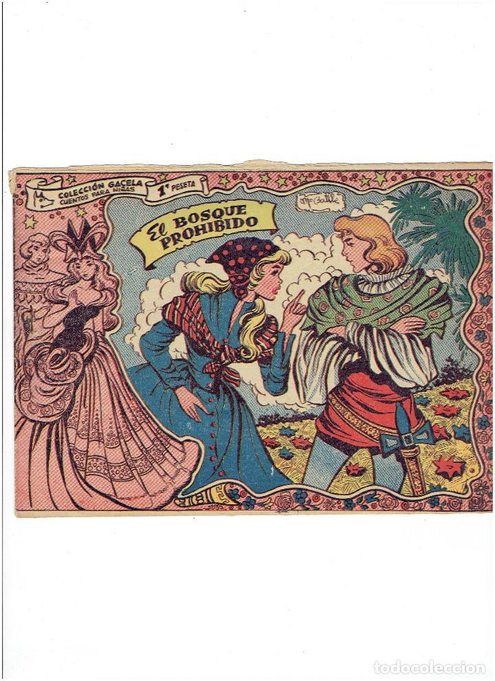 ARCHIVO * COLECCIÓN GACELA * Nº 5 AÑO 1956 * GRAFICAS RICART * ORIGINAL * (Tebeos y Comics - Ricart - Gacela)