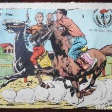 Tebeos: AVENTURAS DEPORTIVAS Nº 5 ORIGINAL - EL JOCKEY DESAPARECIDO - 2 PTAS.. Lote 215674373