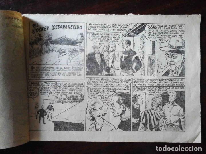 Tebeos: Aventuras deportivas Nº 5 original - El jockey desaparecido - 2 Ptas. - Foto 2 - 215674373