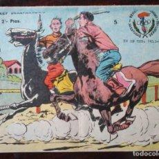 Tebeos: AVENTURAS DEPORTIVAS Nº 5 ORIGINAL - EL JOCKEY DESAPARECIDO - 2 PTAS.. Lote 215674431