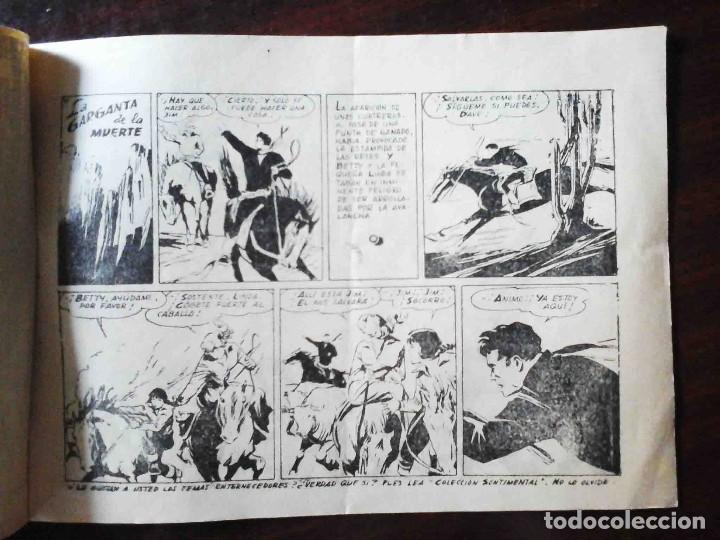 Tebeos: Aventuras deportivas Nº 18 original - La garganta de la muerte - 2 Ptas. Difícil - Foto 2 - 215674562